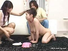 Young Slave Girl Gets A New Home And Immediately Pleases Her New Master