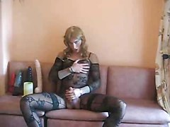 Crossdresser With Big Dildos
