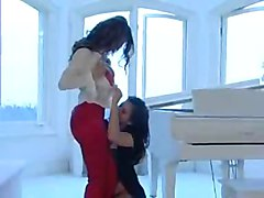 Lesbian Foreplay leads to Naked Teen Lesbians