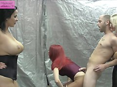 Handjob School: Ballbust and Cum on Pantyhose 101 Preview
