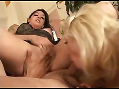 Hardcore cum swapping threesome