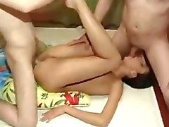 amateur russian threesome