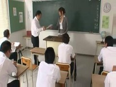 Japanese Teacher Fucked By Her Students 1