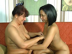 german couple share a mature woman