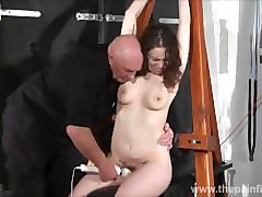 spanked amateur slavegirl beauvoirs hellpain whipping and strict dungeon bd