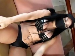 Hot Brunette Ninja Gets Roughly Nailed