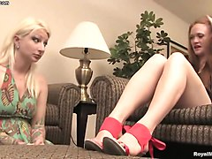lesbian foot domination - miss tyler aria