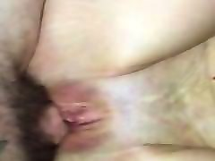 tattooed amateur milf does anal and takes load from young tattooed stud