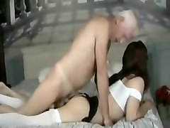 blonde crossdresser sex old man