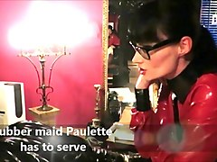 rubber maid paulette has to serve lady cheyenne de muriel
