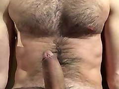 straight hairy men jerking off
