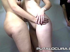 puta locura spanish amateur 18 year olds in first bukkake