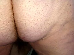 wifes fat hairy pussy lips & hairy ass