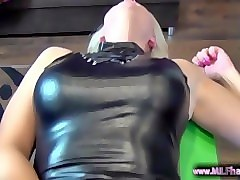 blonde german milf with pierced pussy gets creampied - www.milfhack.com