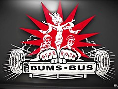 Bums Bus - German babe Arianna Love gets her twat and ass fucked hardcore on a bus