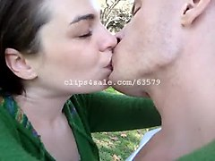 kissing fetish - vd and nicole kissing video 3