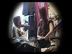 cheating wife gets caught on hidden camera enjoying an inte