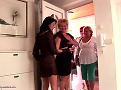 grannies and moms at pissing groupie love