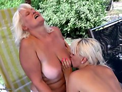 two blonde bitches are in love with their orgasmic cunts