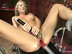 MILF MACHINE - Simone Sonay Takes on the F Machines