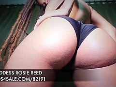 ass worship rosie reed booty boy ebony ass femdom pov