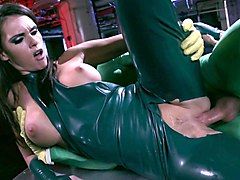 latex-clad stunner alexis ford has her juciy snatch licked and rammed