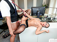 bums buero - german milf kate nox in dirty office fuck