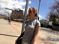 public street sex with blonde teen