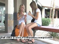 Sara And Rilee From Ftv Babes Independent Stunning Lesbian Babe Have Lesbian Kissing In Public