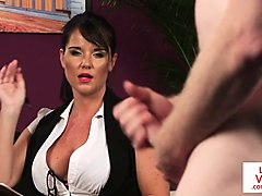 british voyeur milf dictates wanking session