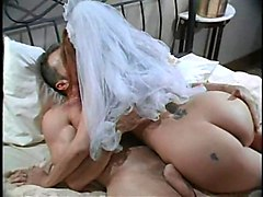 he couldn't wait to treat his bride with some vidid fucking
