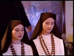 Two Teen Nuns Fuck A Priest
