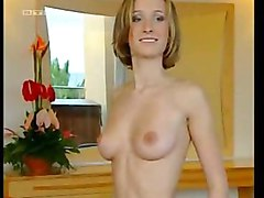 German Teen Juliane Strips On Tv Part 3