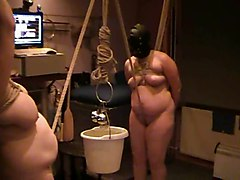 2 Slavegirls And A Bucket Of Water
