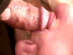 Thick Gooey Close Up Cum Shot Into Girls Mouth By Rb