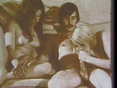 Vintage: Old School Hairy Foursome